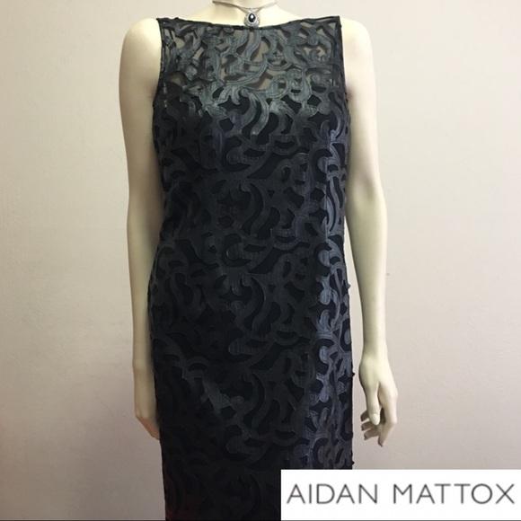 Aidan Mattox Dresses & Skirts - Aidan Mattox black cocktail dress